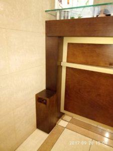 Напольное оборудования для ароматизации от компании Мидсан в лобби отеля