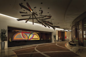 Vdara Hotel & Spa ароматизирует лобби
